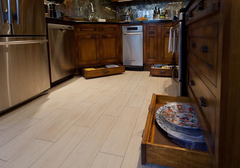 Креативный дизайн системы хранения кухонной посуды и мелкоих аксессуаров от Slesinski Design Group, Inc.