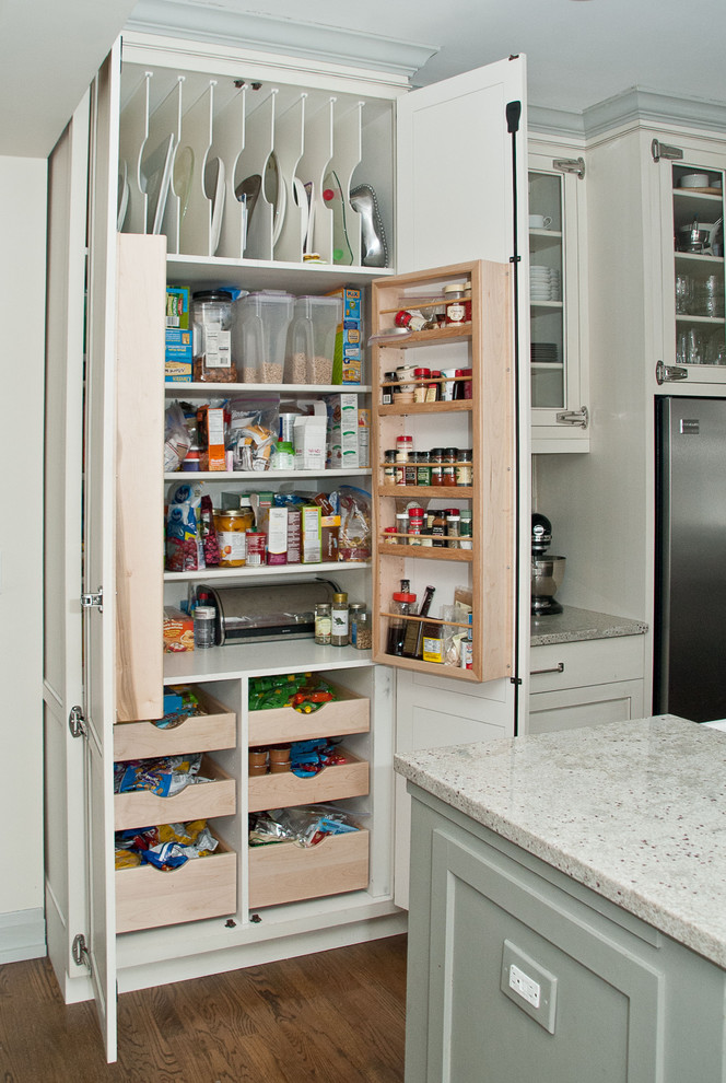 Креативный дизайн системы хранения кухонной посуды и мелкоих аксессуаров от Rebekah Zaveloff   KitchenLab