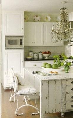 Яркое оформление кухни