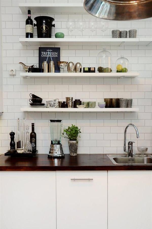 Системы хранения для кухни - настенные полки