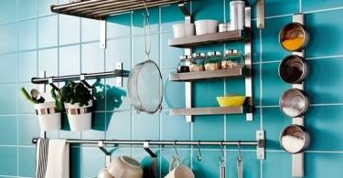Обустраиваем на кухне новые объёмы для хранения посуды