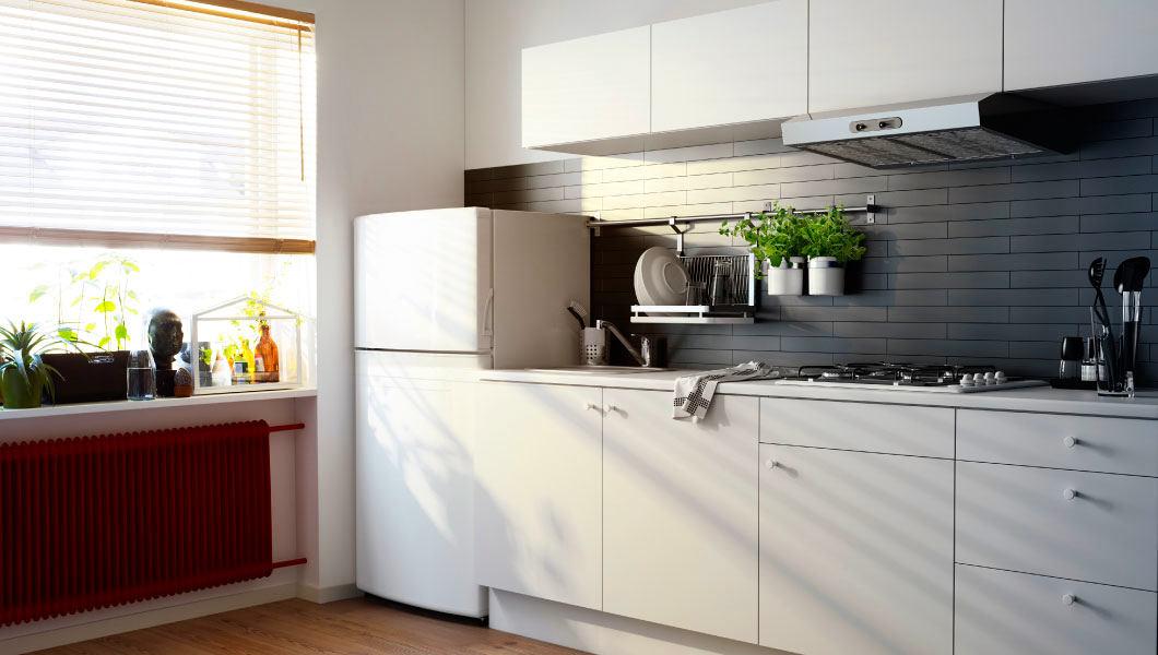 Системы хранения для кухни - белая мебель