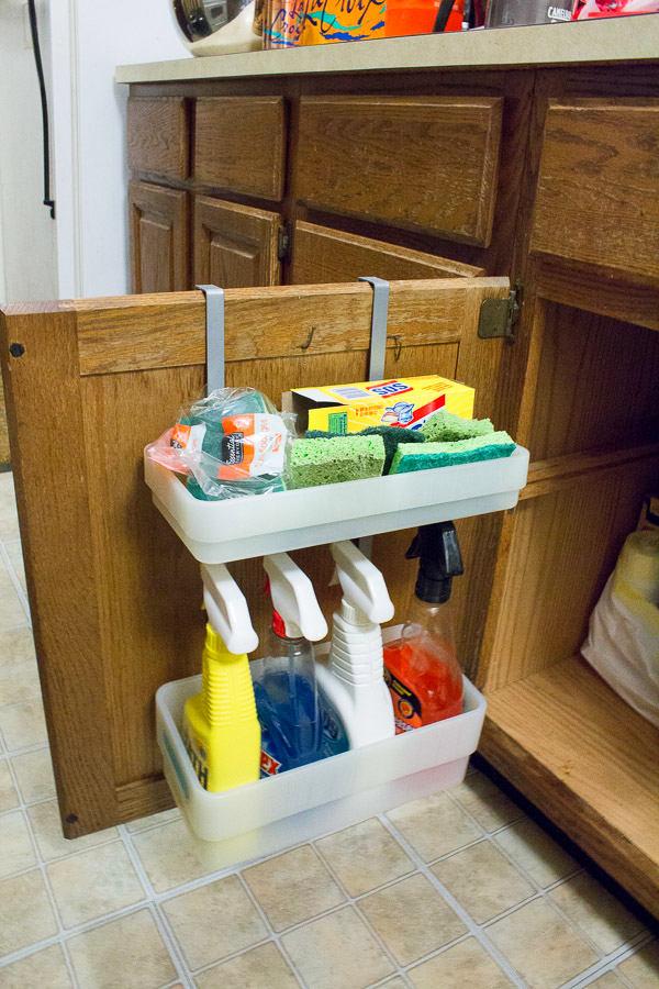 Системы хранения для кухни - полка на дверцах