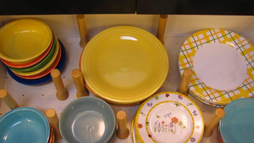 Системы хранения для кухни - место для тарелок