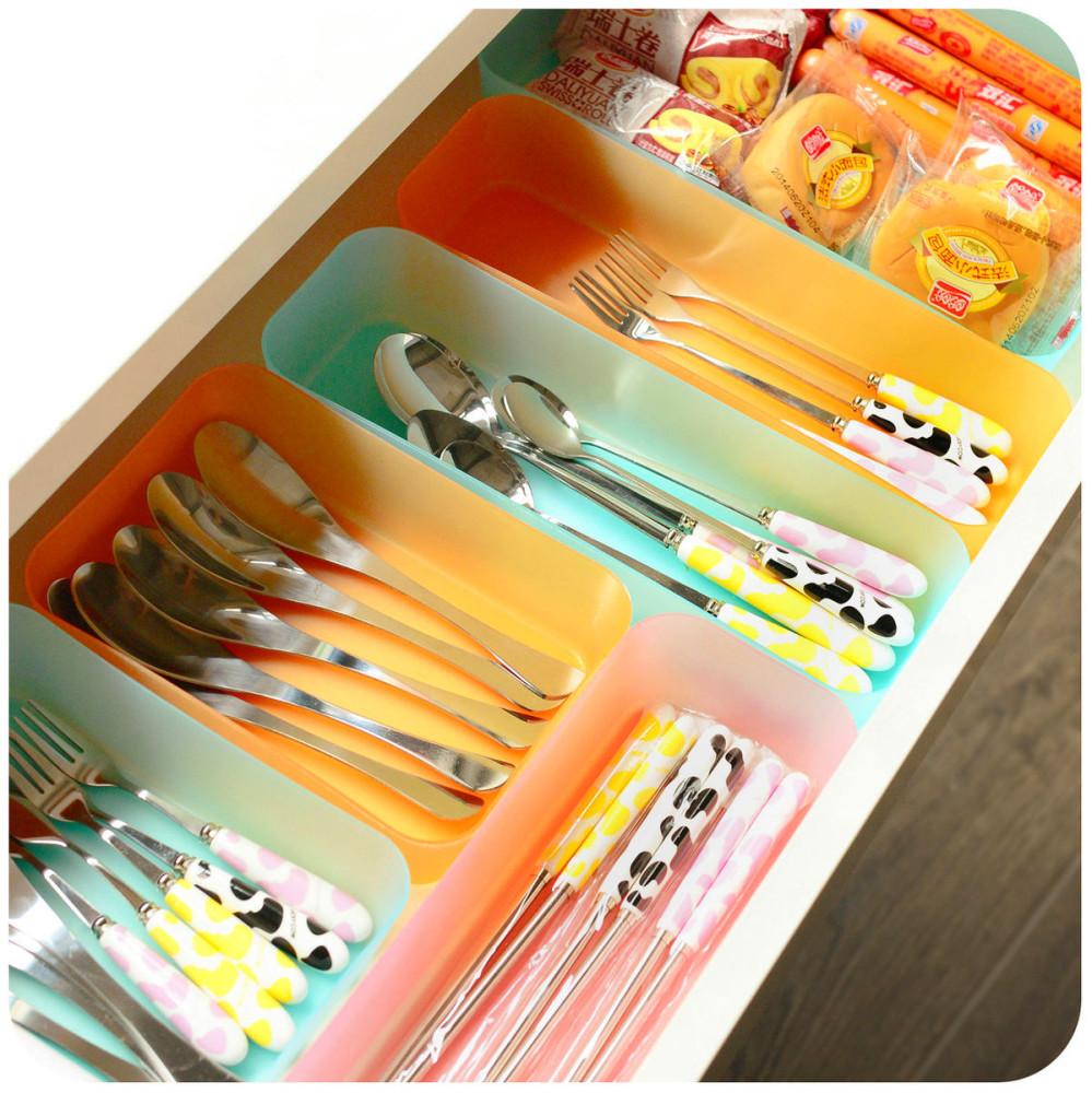 Системы хранения для кухни - выдвижной ящик для столовых приборов