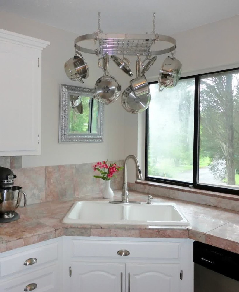 Системы хранения для кухни - металлический держатель для посуды