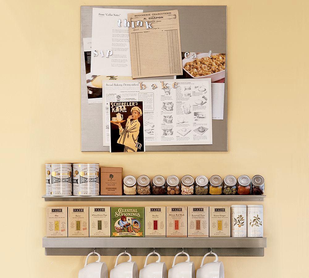 Системы хранения для кухни - узкие полки