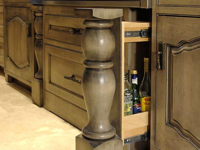 Системы хранения для кухни - вертикальный ящик
