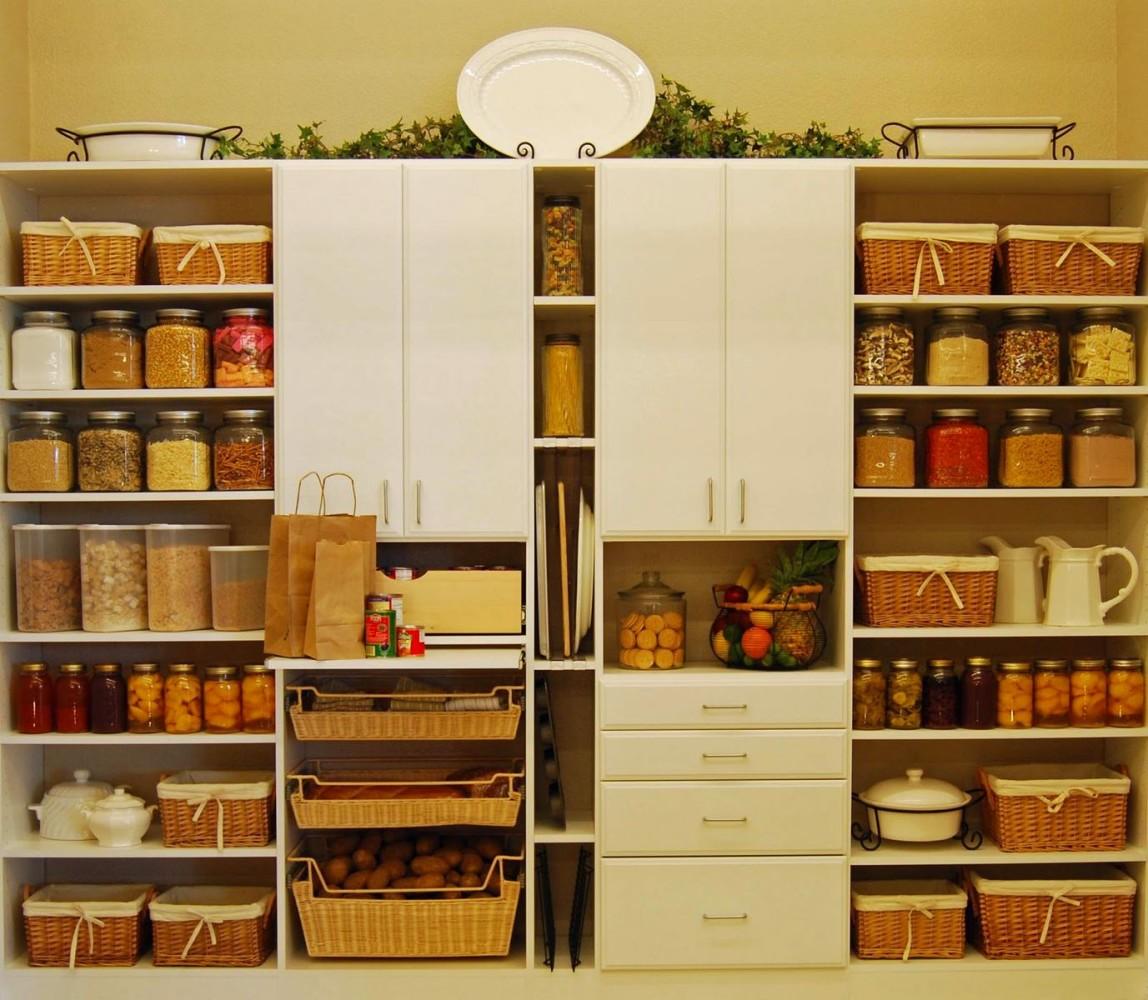 Системы хранения для кухни - стеллаж с полками