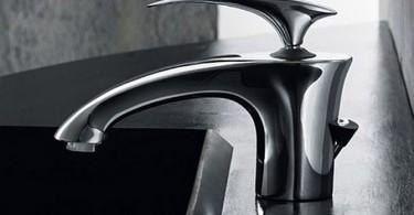 Стильный дизайн иеталлического кухонного смесителя от от Antonio Bullo