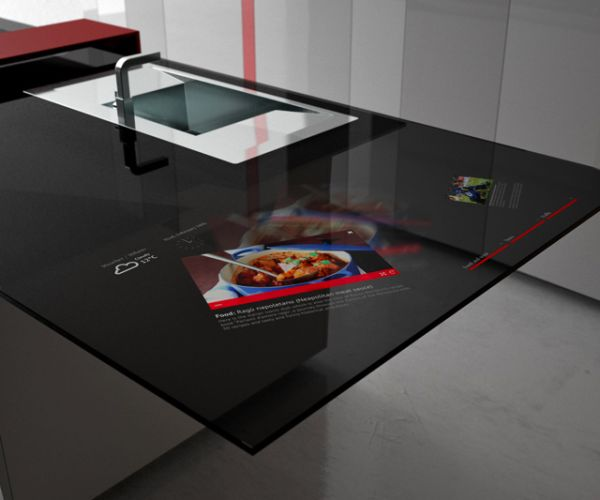 Рабочая поверхность на кухне