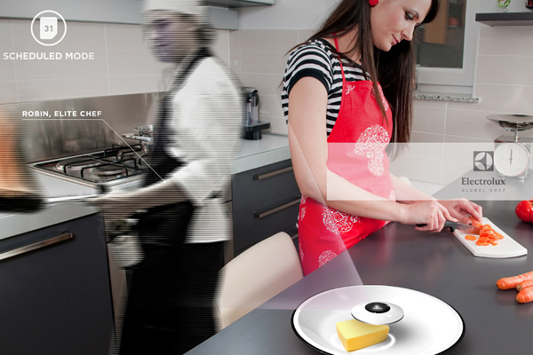 Интерактивная кухонная система