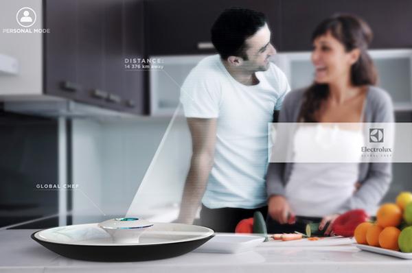 Хай-тек устройство на кухне