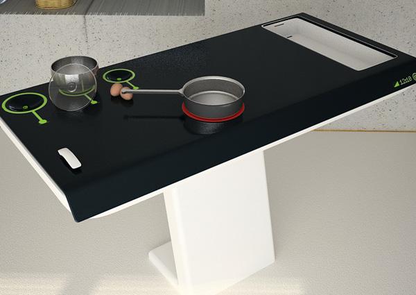 Плитка с интерактивными платформами