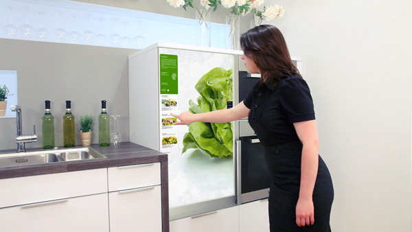 Интерактивный холодильник
