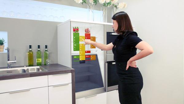Сенсорное управления холодильником