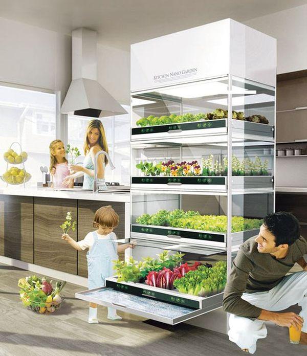 Холодильник с выдвижными полками