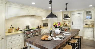 Красивые светильники на кухне