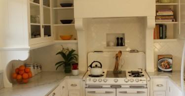 Винтажный стиль дизайн интерьера кухни от Robert Kelly