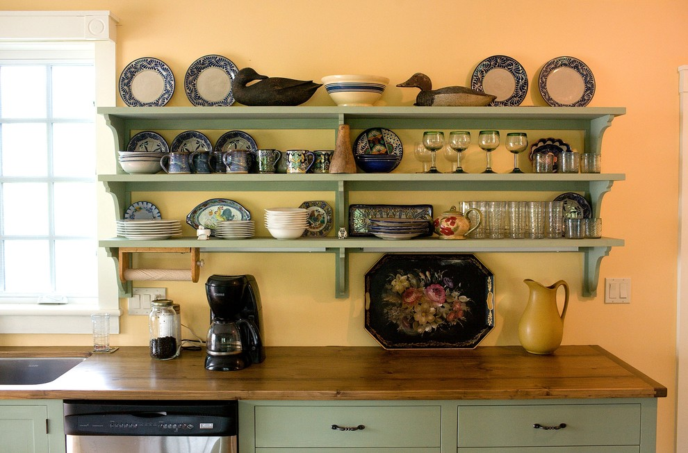 Кухни фото дизайн полки