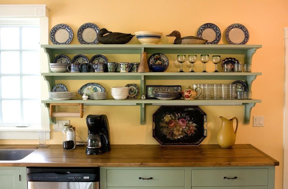 Фото полок на кухню своими руками