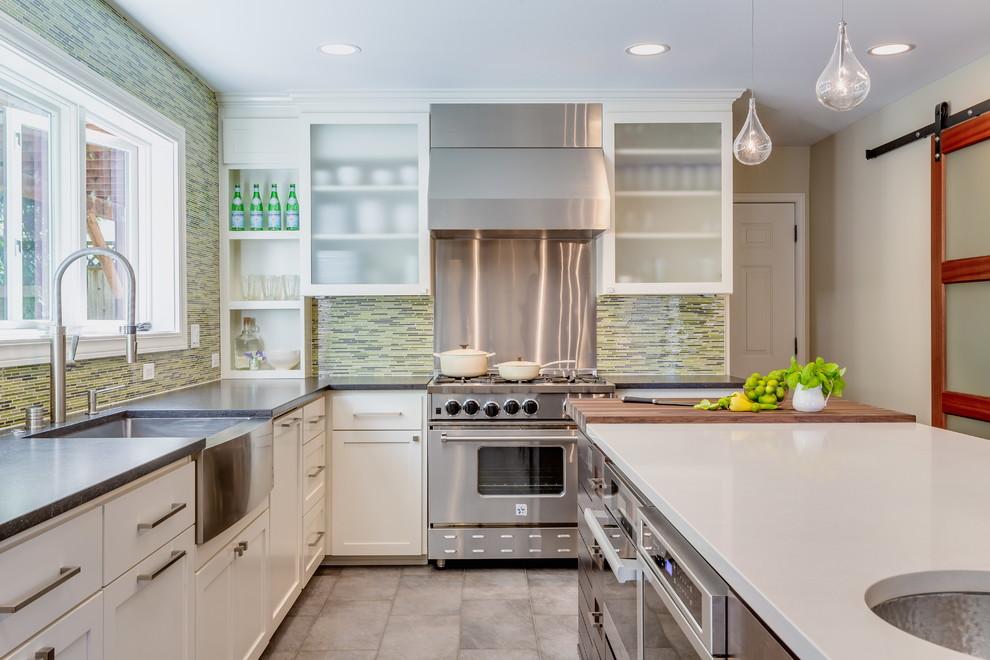 Элегантный интерьер кухни от Хармони Уэйс