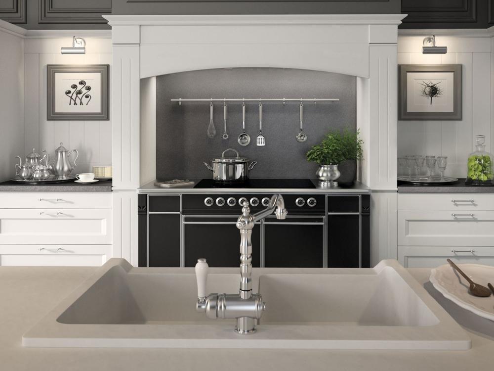 Английский стиль кухни: дизайн кухонного крана