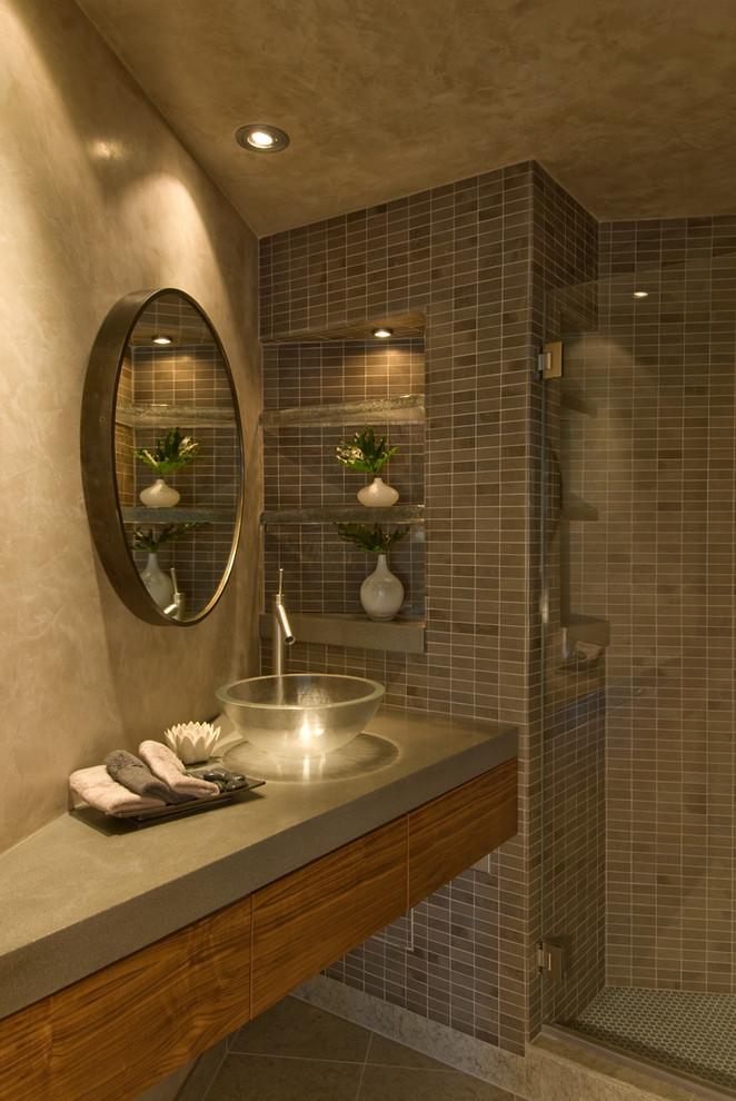 Стильное оформление ванной комнаты от Indivar Sivanathan