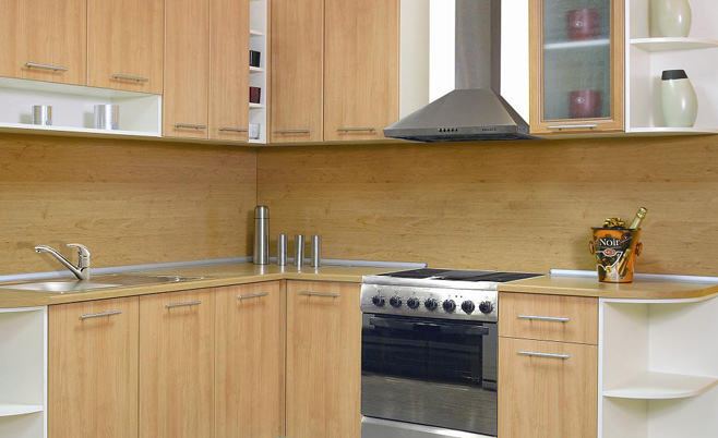 Оформление кухонного фартука МДФ – фото