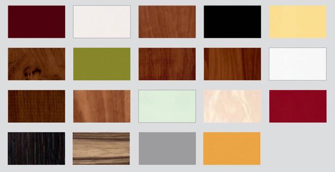 Цветовая палитра для фартуков из МДФ