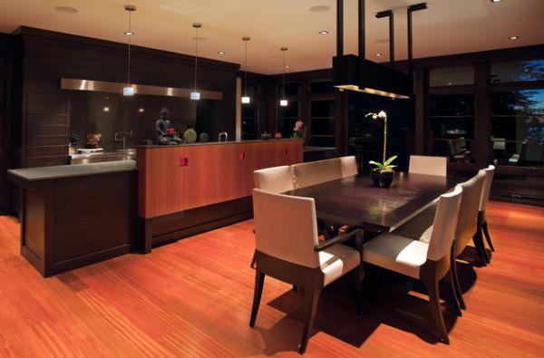 Дизайн интерьера кухни в азиатском стиле