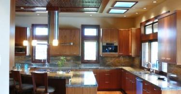 Оригинальный дизайн интерьера кухни в азиатском стиле от LisaLeo designs