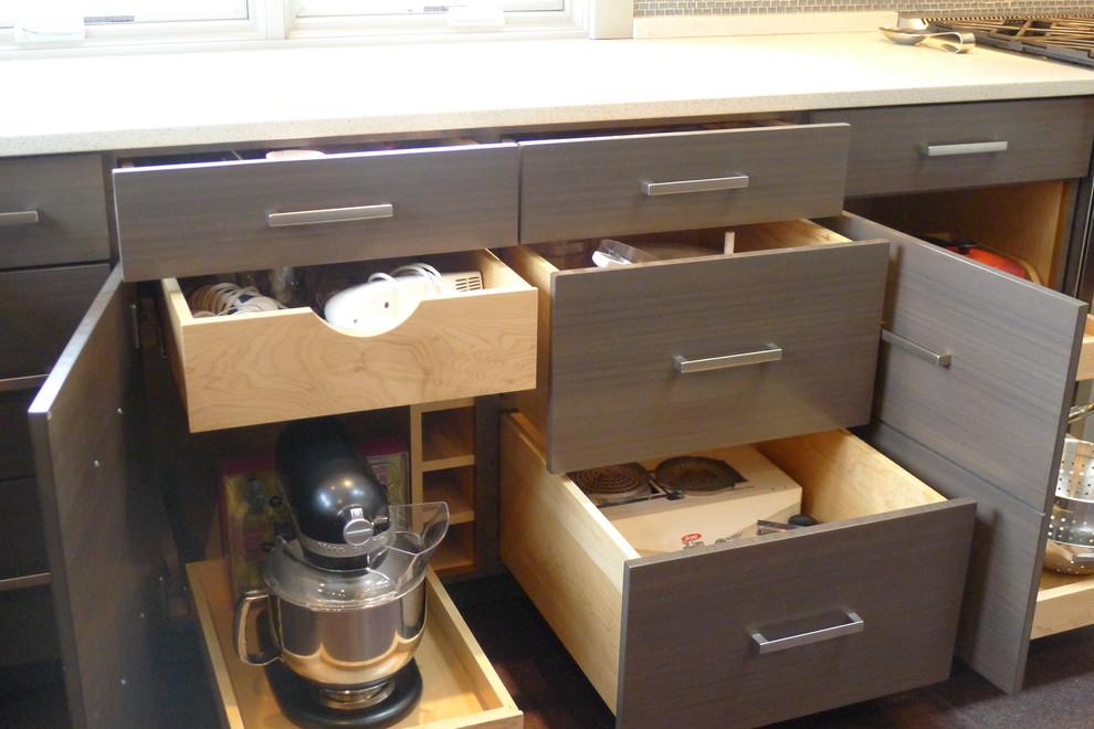 Хранение кухонной бытовой техники