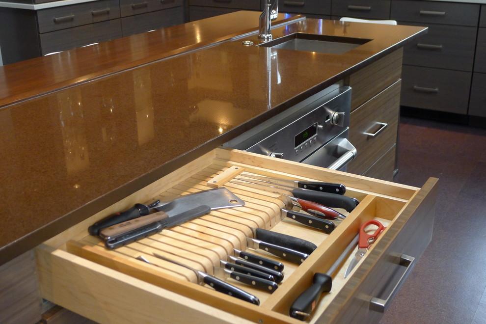Ящик для хранения ножей