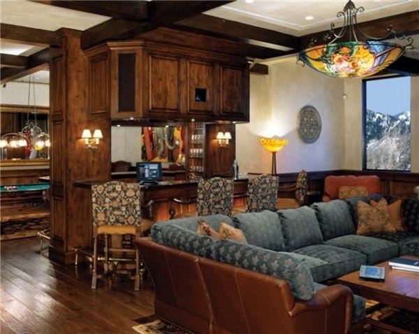 Эргономичный бар в гостинной