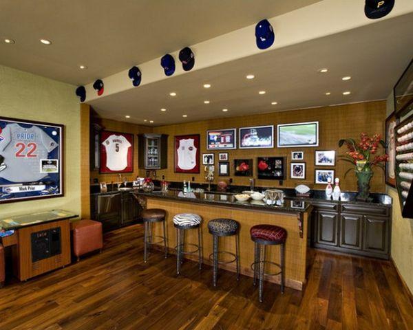 Деревянный домашний бар