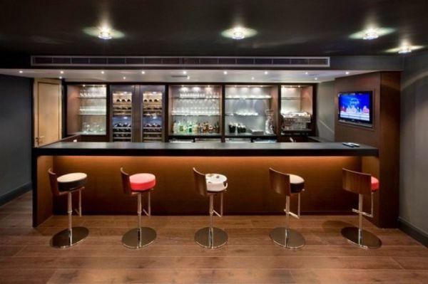 Домашний бар в стиле минимализм