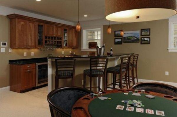 Барная стойка и стол для покера