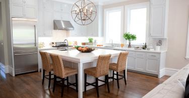 Белый интерьер кухни: хватит мечтать, пора делать!