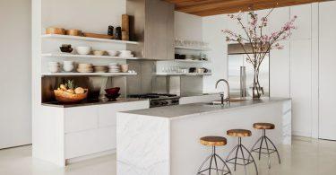 Современные белые кухни