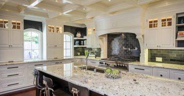 Фото белой столешницы на кухне