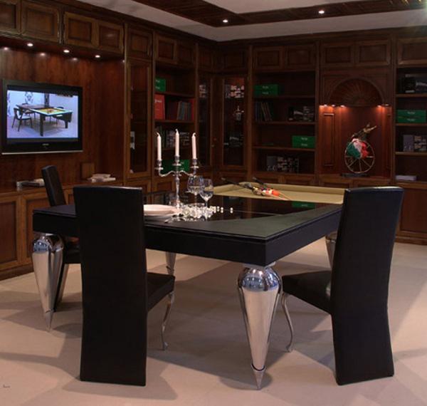 Обеденно-бильярдный стол Parigi and Cabochon от MBM Billardi