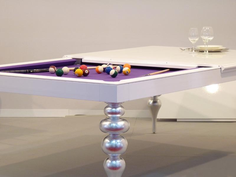 Эксклюзивный обеденный стол Parigi and Cabochon от MBM Billardi