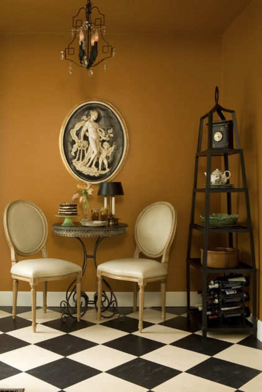 Столик для перекуса в стиле бистро