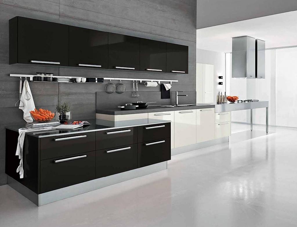 Модный дизайн кухни фото