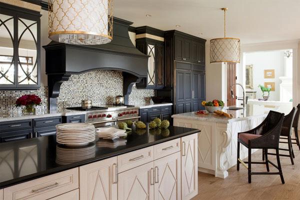 Кухни черного цвета: утончённый дизайн интерьера
