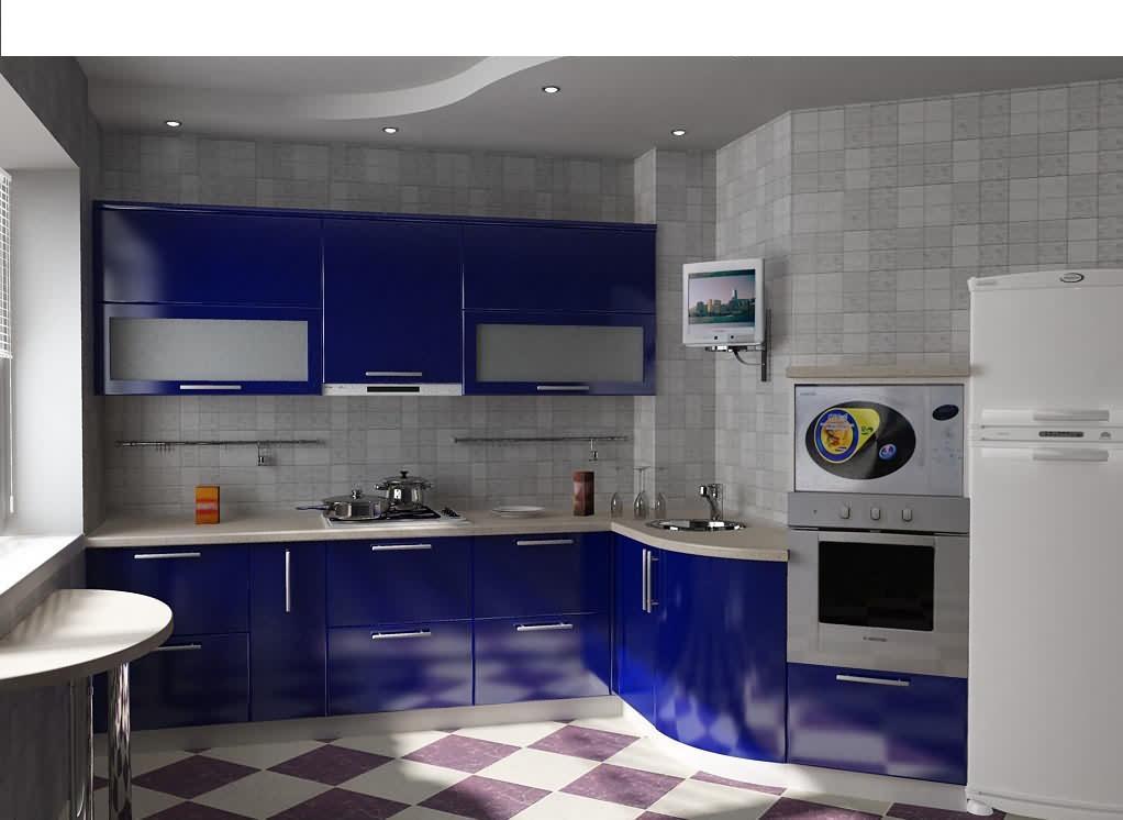 Кухня планировка и дизайн