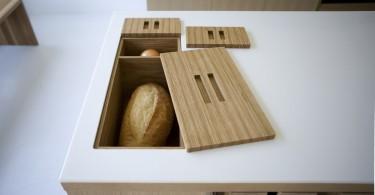Оформление хлебницы в дизайне интерьера кухни