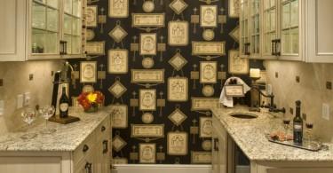 Оригинальный красочный дизайн кухонной кладовой от Cross Keys Designs