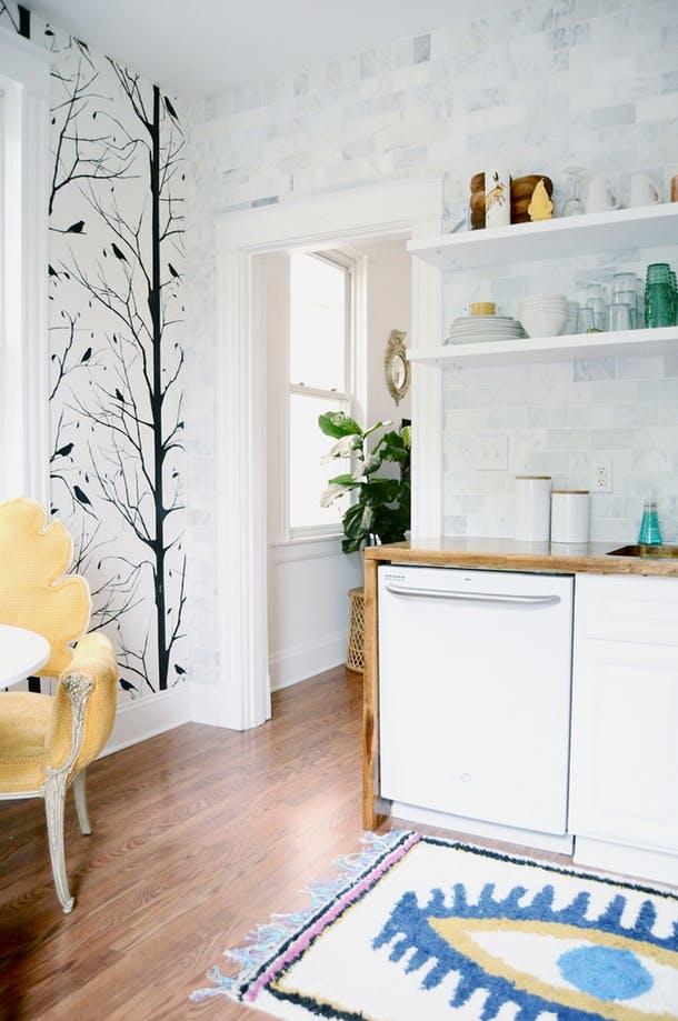 Интересные детали в интерьере кухни
